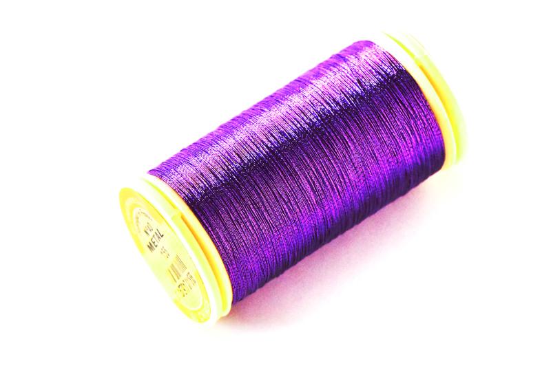 オートクチュール刺繍糸 メタリック (#155) ヴァイオレット