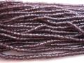 3CUT アメジスト/シルバーライン(9/0)チェコ製シードビーズ 約4.7m 糸通し