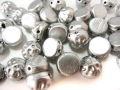 バロックカボション 2穴 7mm (アルミニウム/ブロンズ)