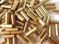 チェコ製 7mm竹 丸穴(ペールゴールド/ブロンズ)