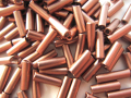 チェコ製 7mm竹 丸穴(ブロンズコッパー/クリスタル)