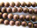 ガラスパール6mm ブラウン(マット)