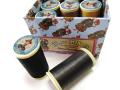 ★オートクチュール刺繍糸フィラガン12色アソートNo.1(ダークトーン)