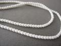 ガラスパール2mm マットホワイト 糸通し 約147〜150個/本