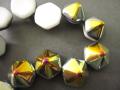 2ホール・ピラミッド ヘキサゴン 12mm (マレア/ホワイト)