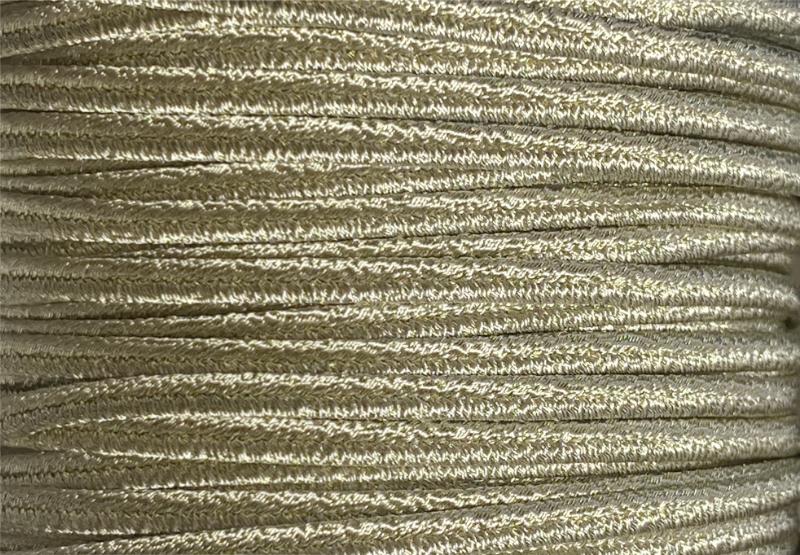 イタリア製 ソウタシエ用 ブレード 約3m #3102 (ライトゴールドメタリック)