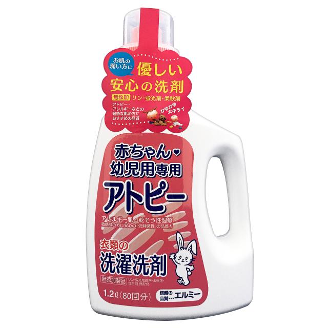 赤ちゃん衣類洗剤1.2L