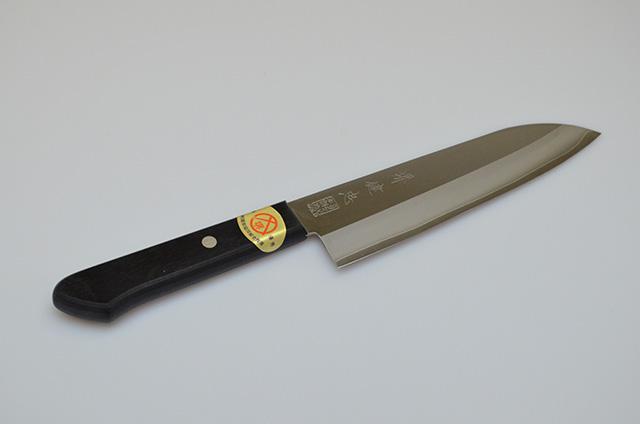 【河井刃物】健忠 さびにくい文化包丁 165mm