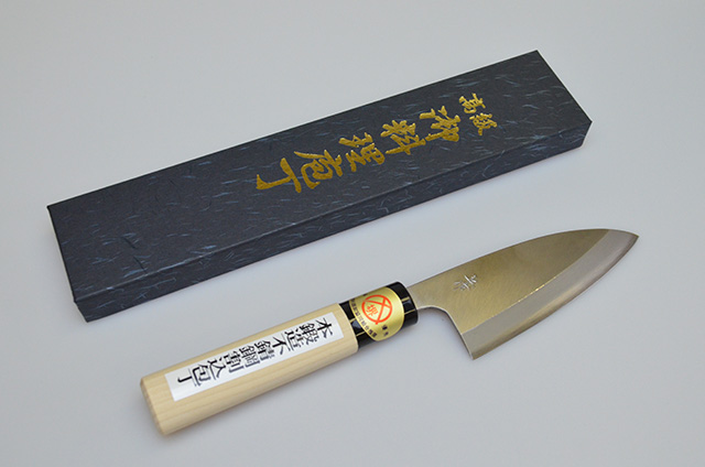 【河井刃物】健武作 小出刃包丁 105mm