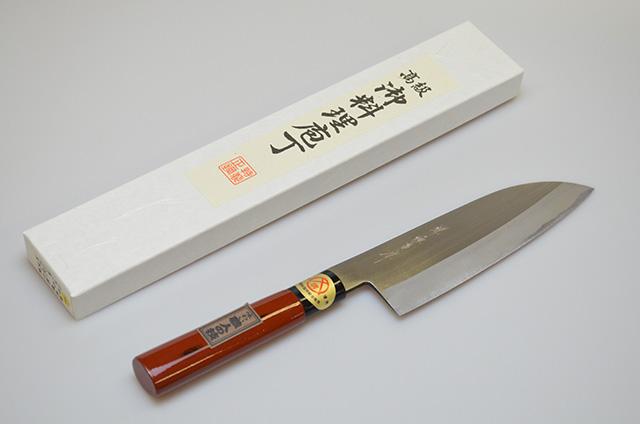 【ダイキチ】堺源吉作 文化包丁 180mm