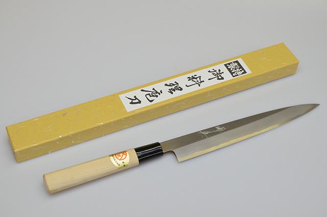 【山本刃剣】堺英 柳刃包丁 210mm