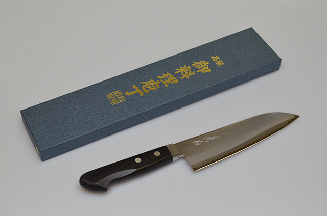 【山脇刃物製作所】郷右馬允義弘 三徳包丁 170mm