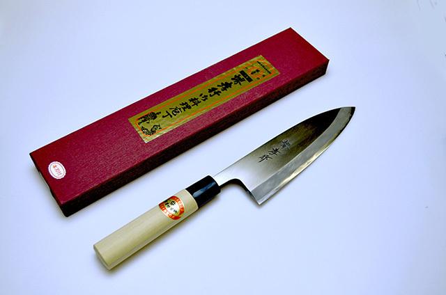 【青木刃物製作所】堺孝行 出刃包丁 180mm