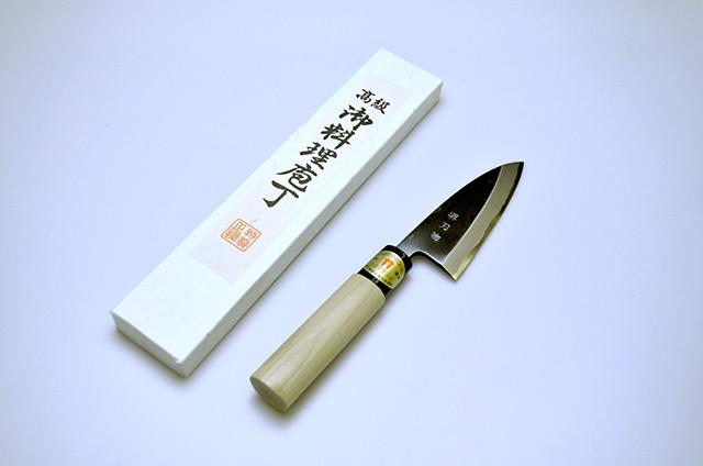 【味岡刃物製作所】堺刃物 出刃包丁 105mm
