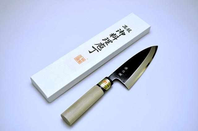 【味岡刃物製作所】堺刃物 出刃包丁 135mm
