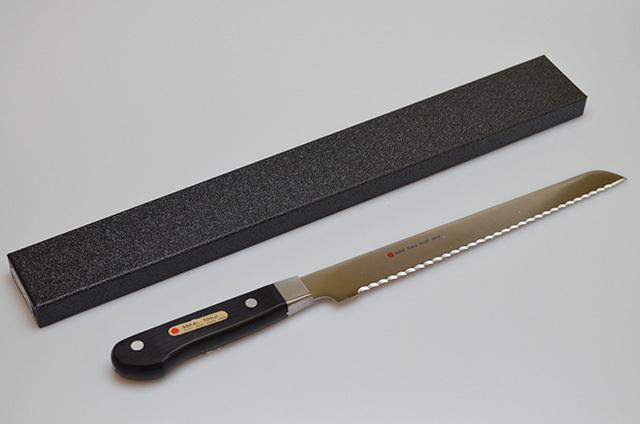 【和泉利器製作所】堺刀司 REDPOINT パン切庖丁 240mm