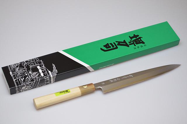 【和泉利器製作所】堺刀司 岩国作 正武 210mm