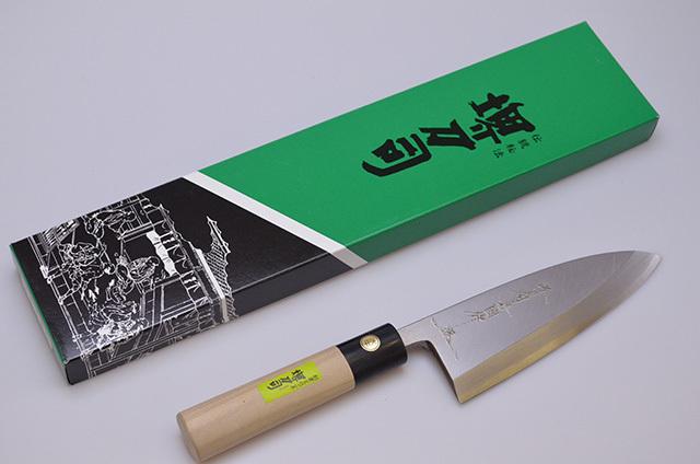 【和泉利器製作所】堺刀司 岩国作 出刃庖丁 150mm