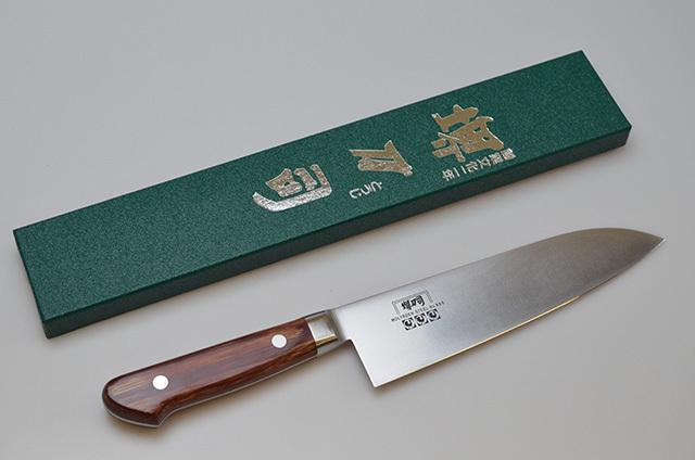 【和泉利器製作所】堺刀司 三徳庖丁 180mm