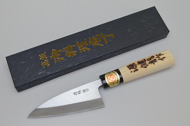 【河井刃物】堺健龍 小出刃包丁 左利き用 105mm
