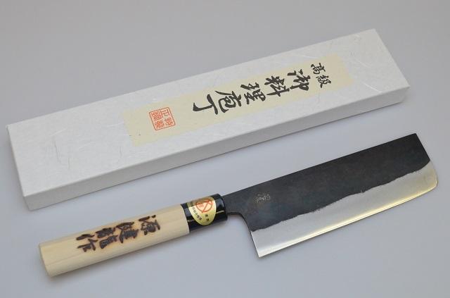 【河井刃物】健龍作 菜切包丁 180mm