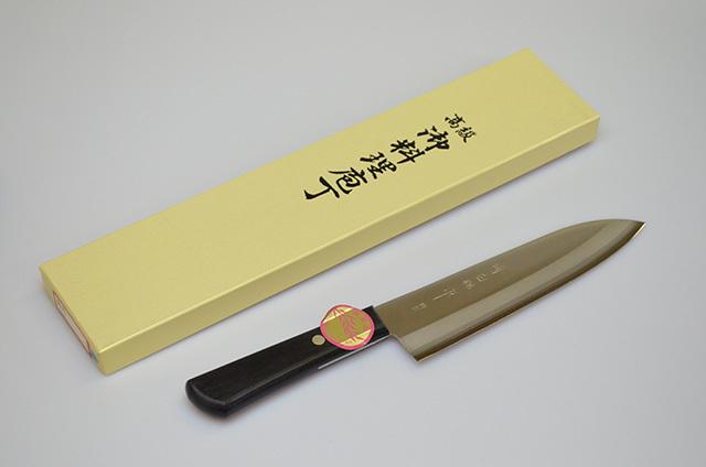 【川澤刃物工業】堺白鶴作 舟行包丁 175mm