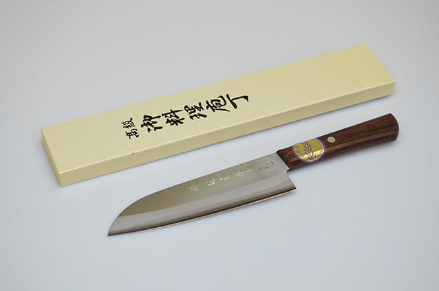 【川澤刃物工業】堺保光作 三徳包丁 160mm
