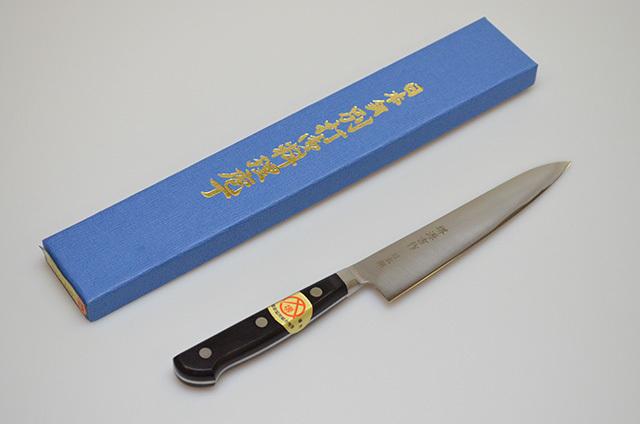 【ダイキチ】堺源吉作 ペティナイフ 150mm 日本鋼