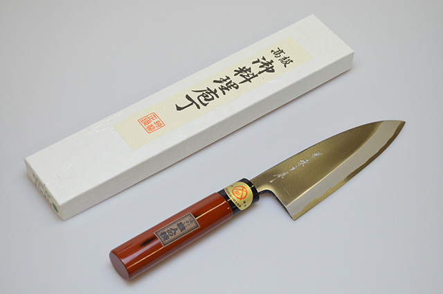 【ダイキチ】堺源吉作 出刃包丁 150mm
