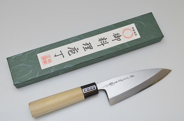【ダイキチ】堺一文字吉國作 出刃包丁 120mm