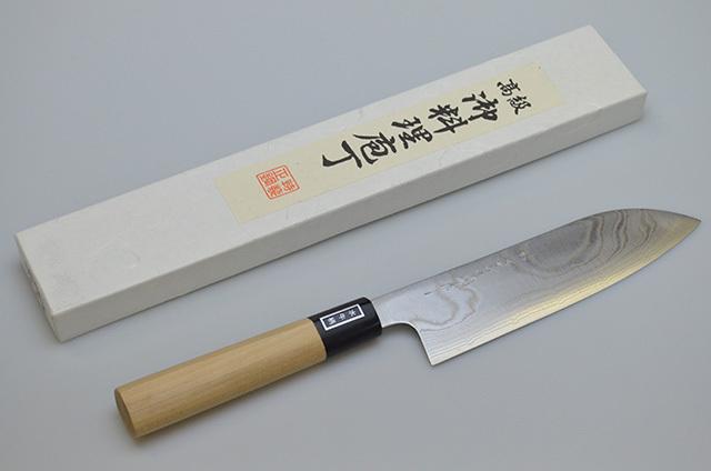 【ダイキチ】堺一文字吉国作 文化包丁 180mm