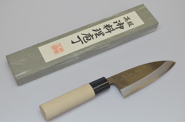 【福井】則正作 出刃包丁 120mm