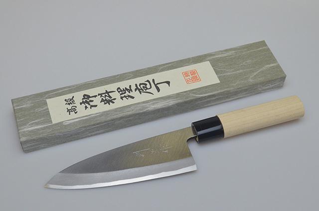 【福井】則正作 出刃包丁 150mm 左利き用