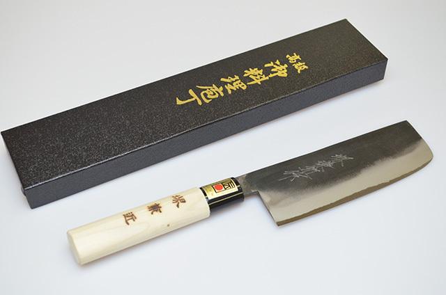 【藤井刃物製作所】黒打菜切包丁 150mm