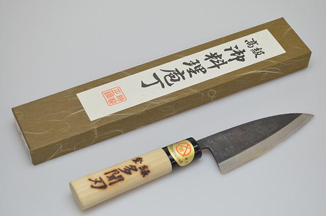【牧田商店】多聞刃 アジ切包丁 105mm