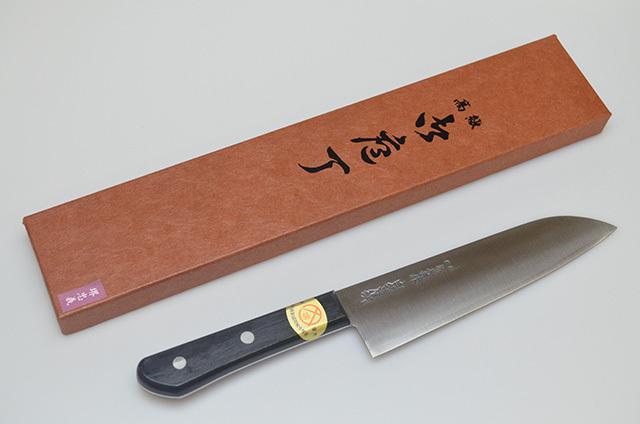 【牧田商店】堺忠義 ホーム型包丁 180mm