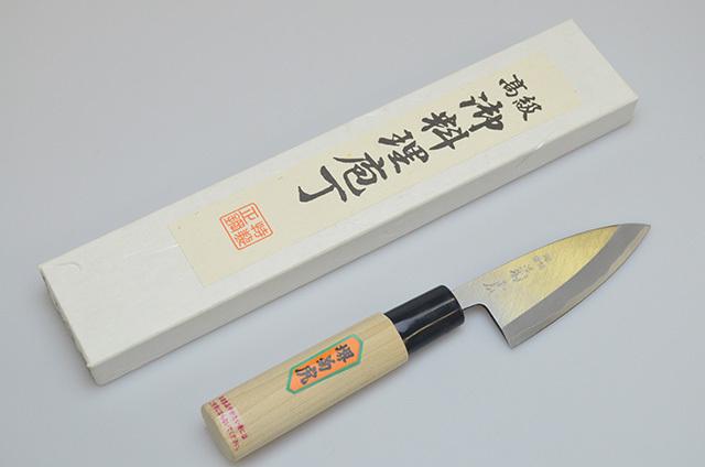 【村田刃物】菊虎 アジ切り包丁 90mm