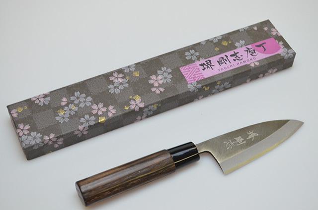 【八内刃物製作所】堺剛志 小出刃包丁 90mm