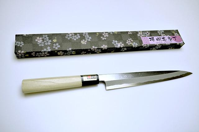 【八内刃物製作所】堺剛志 刺身包丁 210mm