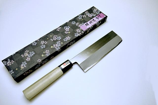 【八内刃物製作所】堺剛志 菜切包丁 165mm