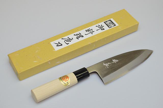 【山本刃剣】堺英 出刃包丁 150mm
