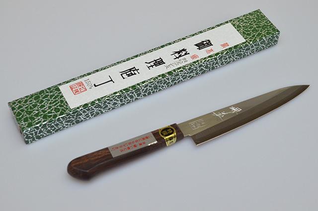 【山本刃剣】堺英 ペティナイフ 150mm