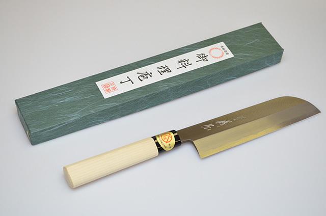 【山脇刃物製作所】郷 特選 薄刃包丁 180mm