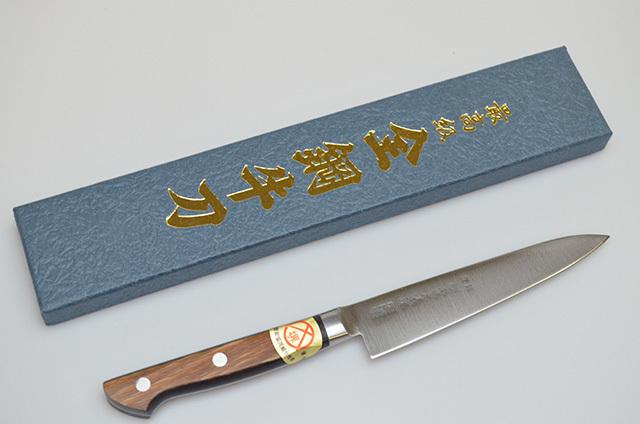 【山脇刃物製作所】郷 ペティナイフ 120mm