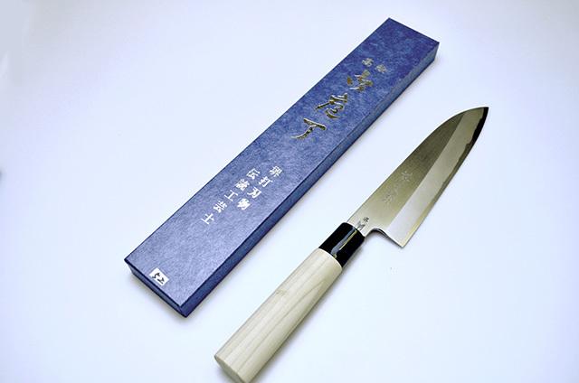 【ノムラ刃物】祥太郎作 文化包丁 180mm
