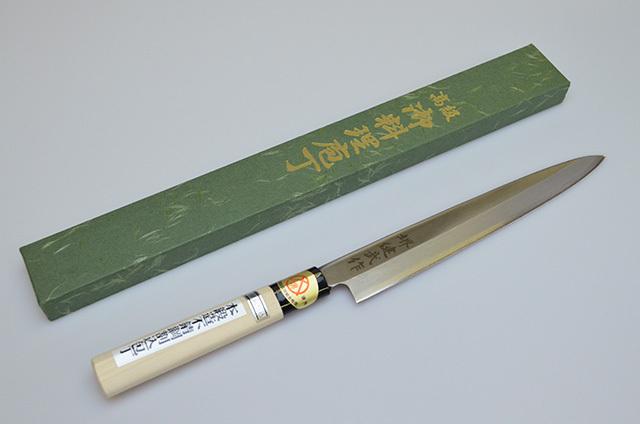 【河井刃物】健武作 刺身包丁 210mm
