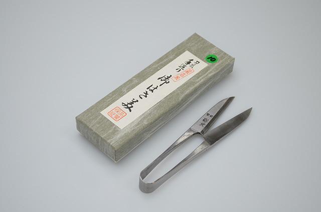 【川澤刃物工業】保光 握り鋏 長刃 105mm