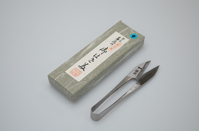 【川澤刃物工業】保光 握り鋏 つめ型 105mm