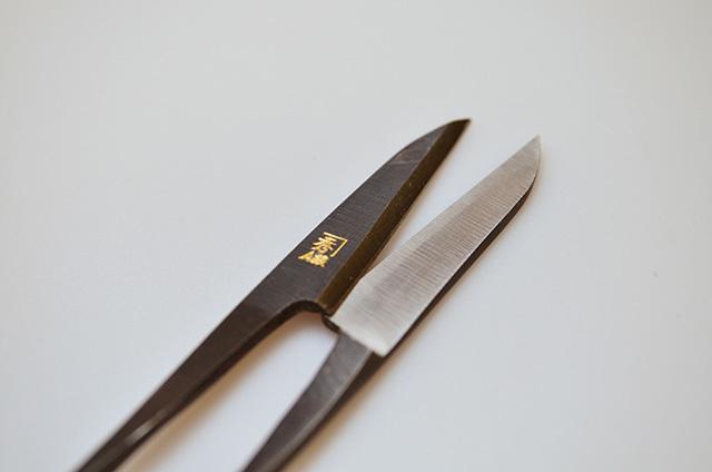 【ダイキチ】A級 イブシ握り鋏 長刃