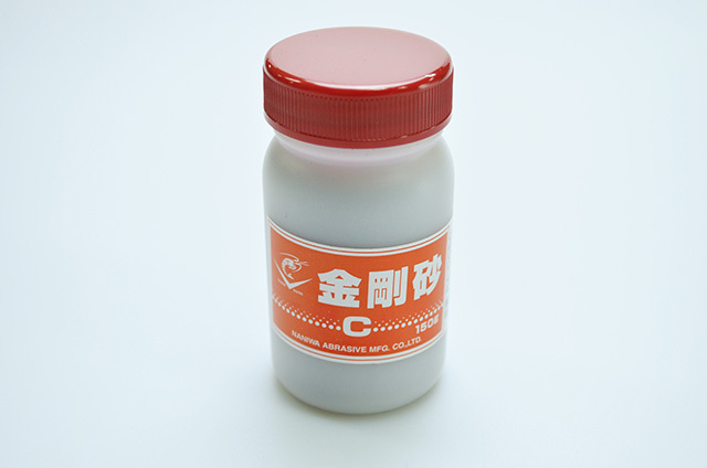 【ナニワ研磨工業】金剛砂 C砂 ポリ容器入り 150g